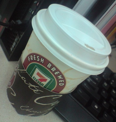 brewed coffee at 711