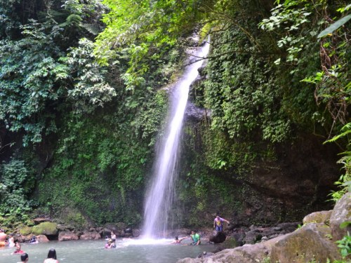 Busay Falls has a total of 14 falls. This is the first as this one is at the base.