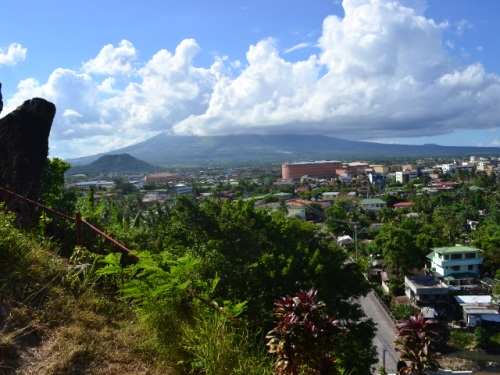 The view from the little chapel on top of Buraguis Hill. The nice thing about Legazpi, Mt. Mayon is visible from almost everywhere and yet, one can't seem to get enough of it.