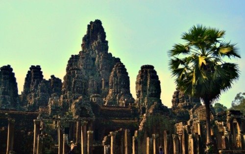 Bayon Temple grounds