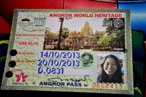 Angkor Wat Pass