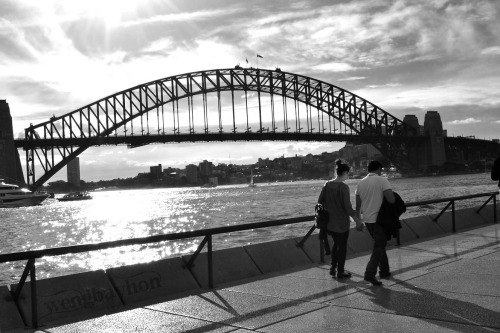 The Sydney Harbor is within walking distance from the apartment.